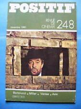 Cinéma revue Positif 248 1981 Bernardo Bertolucci Claude Miller Venise Hyères