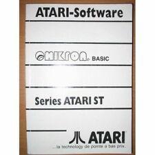 Manuel utilisateur BASIC OMIKRON ATARI ST STF STE en français