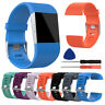 For Fitbit Surge Replacement Wrist Band Soft Silicone Watch Strap Pin buckle AU