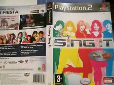 2 x SingStar pop Hits + Disney SINGIT ( 1 x  OVP (   gebraucht  (PS 2 )