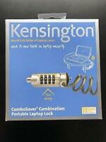 GENUINE KENSINGTON Combosaver Combination Laptop Lock, K64560US New Sealed