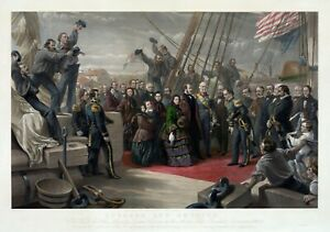 "William Simpson : ""England and America"" (1859) — Giclee Fine Art Print"