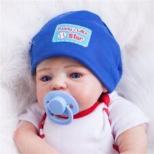 "bebe Reborn Baby Dolls Realistic Newborn Lifelike Vinyl Boy Baby 19"" Handmade 💕"