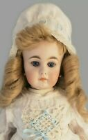 "EARLY 18"" Simon & Halbig 808 Antique German Bisque Antique Doll straight wrists"