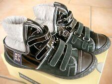 (Z81) MOMINO Girls Schuhe Freizeitschuhe Hochschaft Sneakers Klettverschluß 36