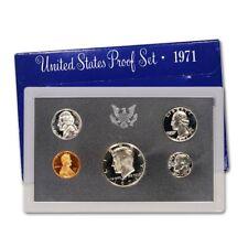 (1) 1971 United States Mint Proof Set in Original Box