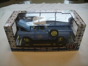 """M-2 CHASE, 1958 CHEVROLET APACHE STEPSIDE PICKUP, """"PAN AM"""" 1/24 SCALE, 1OF 500"""