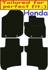 Honda Jazz DELUXE QUALITY Tailored mats 2011 2012 2013 2014 2015