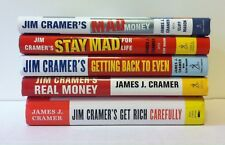 Lot 4 Jim Cramer's Real Money, Stay Mad for Life, Getting Back to Even HC James