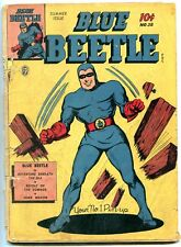Blue Beetle #38 1945- Revolt of the Zomnbies- Missing Centerfold