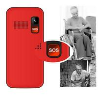 Big Button Mobile Phone Elderly Senior SOS Mobile Duel Sim