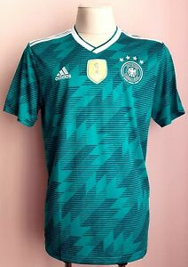 Germany 2018 - 2019 Away football Adidas shirt size L