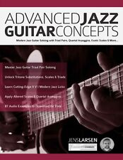 Advanced Jazz Guitar Concepts + Audio
