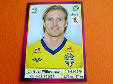 446 WILHELMSSON AL HILAL SVERIGE FOOTBALL PANINI UEFA EURO 2012