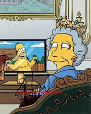 Eddie Izzard The Simpsons Queen Elizabeth Nigel Bakerbutcher Autograph UACC RD96