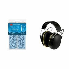 3M Disposable Earplugs 32 Nrr 80 Pairs and 3M WorkTunes Connect Hearing Prote.
