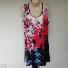 'VIRTUELLE BY TAKING SHAPE ' BNWT SIZE 'XXS' FLORAL PRINT 3/4 SLEEVE TOP