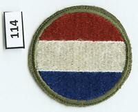 Dealer Dave Military Patch WWII ERA, ARMY GROUND FORCES, FORCES COMMAND,SSI(114)