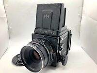 【Nr MINT】 Mamiya RB67 Pro S + SEKOR C 127mm f3.8 Lens + 120 Film Back From Japan