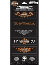 Harley Davidson pegatinas -/stickerset modelo decal straight Wings b&s HD