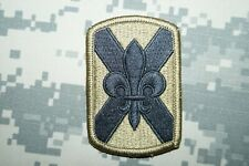 Military Patch US Army 256th Infantry Brigade MULTICAM Authentic Hook & Loop *