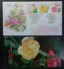 MALAYSIA 2013 ROSES FDC STAMPS WITH BROCHURE