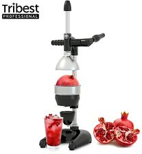 Tribest Professional Cancan XL Manual Citrus Juice Press with Handle Black NEW