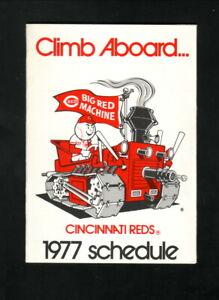Cincinnati Reds--1977 Pocket Schedule--Marathon