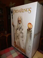 1/4 Sideshow Premium Format Saruman Lord of the Rings Christopher Lee LOTR NEW