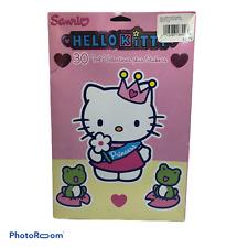 Sanrio Hello Kitty 30 Foil Valentines plus Stickers