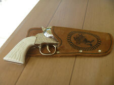 Vintage Daisy Cap Gun and Leather Holster