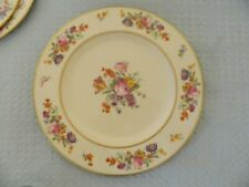 Coxon Belleek Floral Dinner Plate D1025 made for Shepard Co. Providence, RI