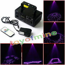 Party dance Laser Stage Lighting Scanner DJ Projector Party Show Light EU Plug