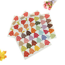 100pcs christmas tree packaging seal paper self adhesive gift bag sticker label