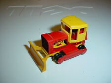 Vintage Matchbox #16 Case Tractor Caterpillar Lesney Toys 1/64 1969 diecast
