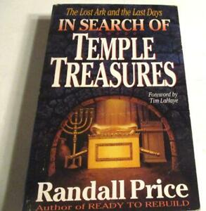 In Search of TEMPLE TREASURES The Lost ARK & the Last Days Paperback – illus