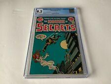 HOUSE OF SECRETS 104 CGC 9.2 REDHEAD SKELETON JUMPER HORROR DC COMICS 1973