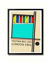 Tooting Bec Lido South London Art Print