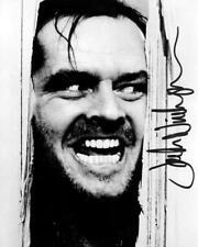 "Jack Nicholson The Shining Signed Autographed 10"" X 8"" Repro Photo Print B&W"
