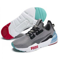 PUMA Mens Cell Phase Trainers Castlerock Grey Gym Sports Training Running Shoes