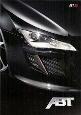 Audi R8 ABT Tuning Accessories 2009 German Market Foldout Sales Brochure