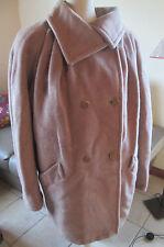 Beau manteau MAX MARA - ALPAGA - MOHAIR - LAINE  excellent état T 40
