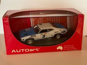 AUTOART Ford XA Coupe GT 1973 Bathurst Winner Moffat/Geoghegan Ltd Ed. 1:43