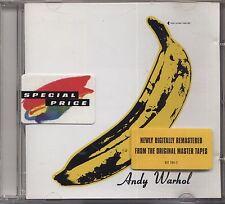 THE VELVET UNDERGROUND & NICO - Andy Warhol - CD 1996 NEAR MINT UNPLAYED