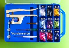 Valise starterset #2: 15x20 = 300 snapshots M. pince adapté pour babysnap ®, kamsnaps