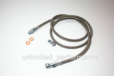 """54"""" for Honda civic 92-00/ Acura 94-01 Braided Stainless Steel Clutch Line"""