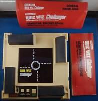 1980s COLECO QUIZ WIZ CHALLENGER HANDHELD GAME SYSTEM VINTAGE ORIGINAL CLASSIC