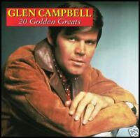GLEN CAMPBELL - 20 GOLDEN GREATS CD ~ 70's COUNTRY / POP ~ GALVESTON +++ *NEW*
