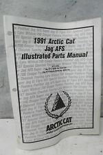 1991 Arctic Cat Jag AFS Snowmobile Illustrated Parts Manual