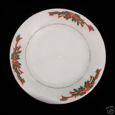 Fairfield Poinsettia & Ribbons Dinner Plate Christmas